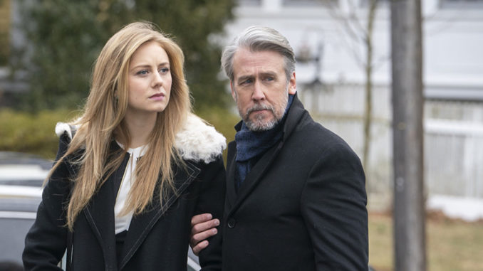 Justine Lupe Alan Ruck Succession HBO